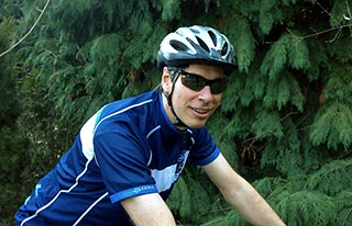 Jeff Lynn, founder and bicycle tour guide