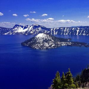 Wizard Island - Crater Lake National Park