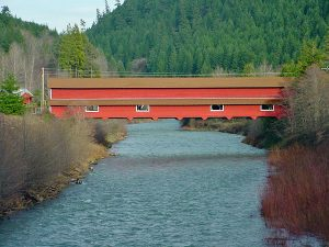 Westfir's Office Bridge